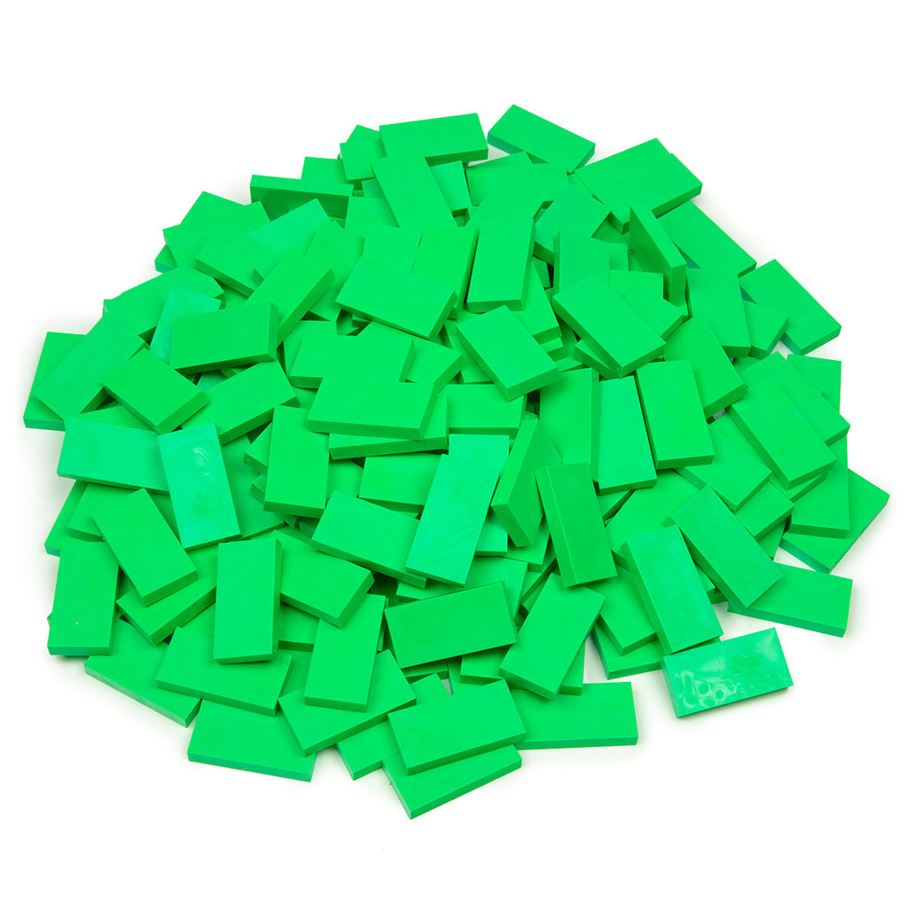 Bulk Dominoes - Candy Apple Green