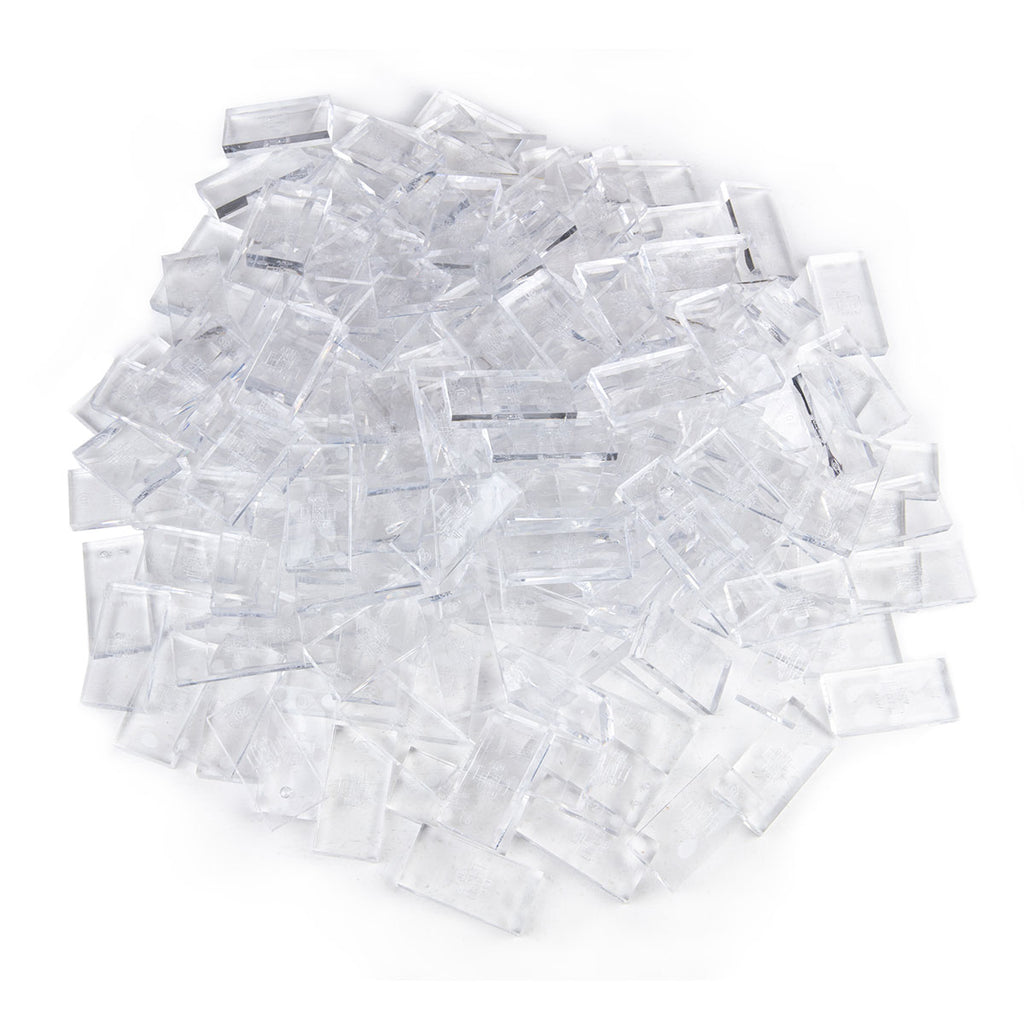 Bulk Dominoes - Clear