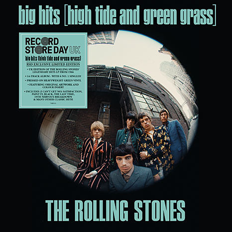 The Rolling Stones / Big Hits (High Tide and Green Grass) Limited Edition RSD Green Vinyl