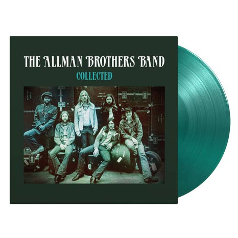 The Allman Brothers Band / Collected 2LP transparent green vinyl