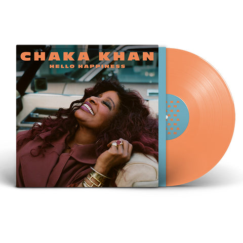 Chaka Khan / Hello Happiness limited edition orange vinyl LP