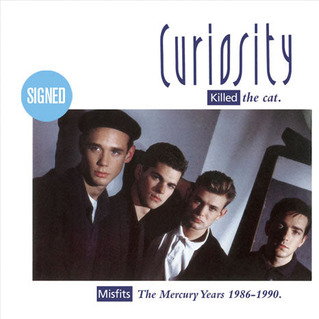 Curiosity Killed The Cat / The Mercury Years 1986-1990 4CD box set *Limited SIGNED Edition*
