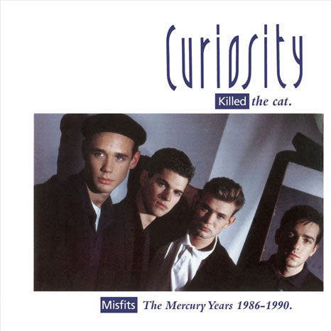 Curiosity Killed The Cat / The Mercury Years 1986-1990 4CD box set