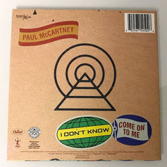"Paul McCartney: I Don't Know / Come On To Me / RSD 7"" – USA import"