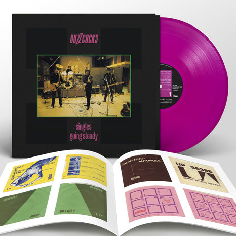 Buzzcocks / Singles Going Steady / Limited Deluxe Violet Vinyl LP