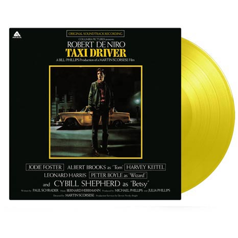 Bernard Hermann / Taxi Driver soundtrack on limited yellow vinyl
