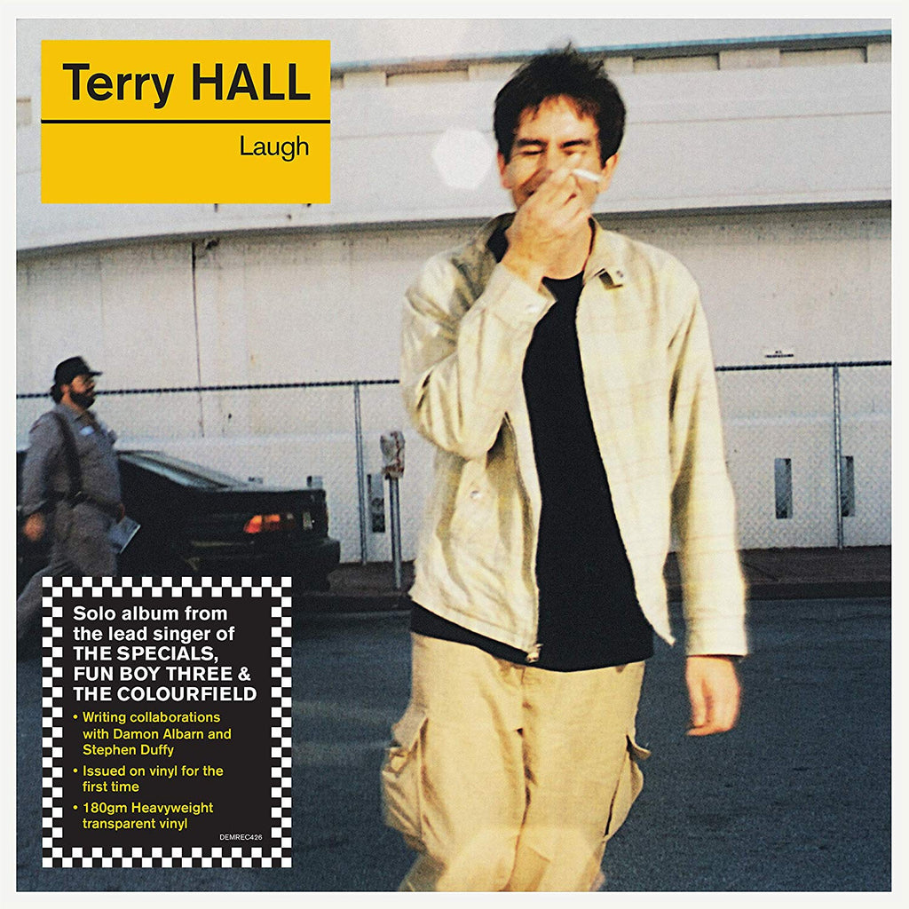 Terry Hall / Laugh clear vinyl LP