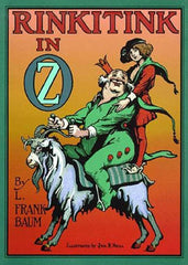 Rinkitink of Oz Cover
