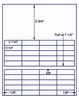"US3746 - 40 UP 2 1/16'' x 11/16''  on a 8 1/2"" x 11"" label sheet"