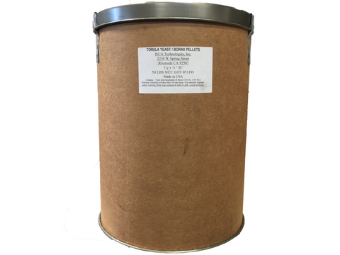 50 Pound Bucket of Torula Yeast for Olive Fruit Fly - ISCA Technologies