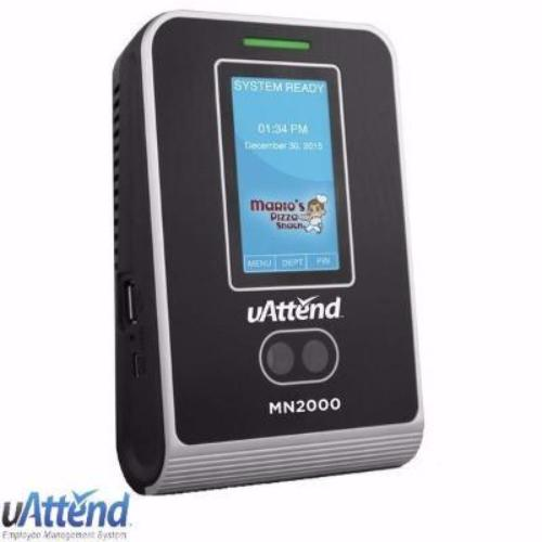 uAttend MN2000 Time Clock, Cloud Time Sheets