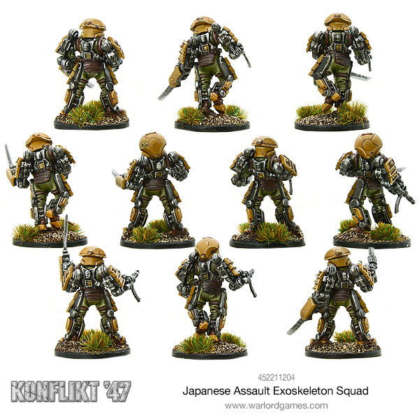 Japanese Assault Exo skeleton squad