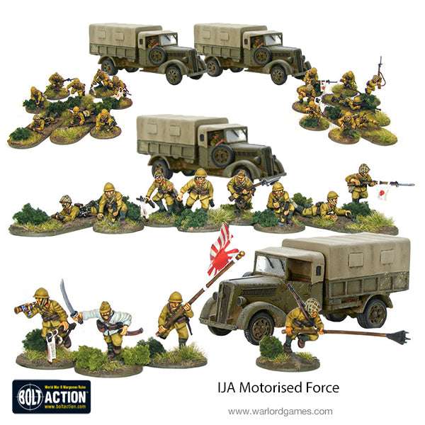 IJA Motorised Force