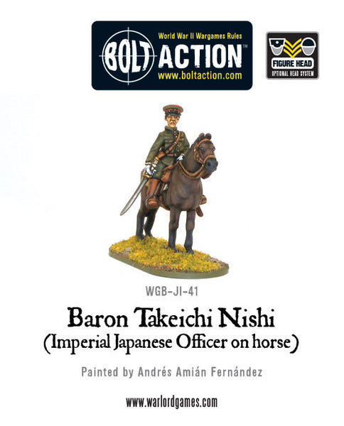 Baron Nishi (Imperial Japanese officer on horse)
