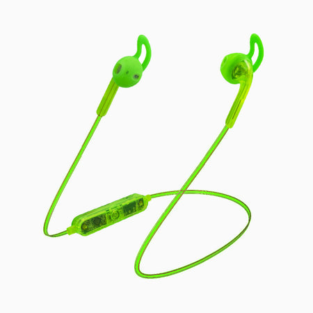 Neon Jelly Series Wireless Neon Earbuds (Neon Green)