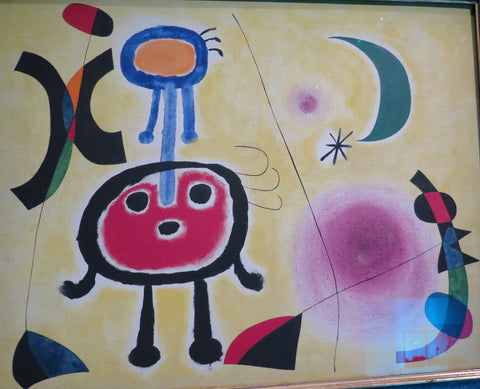 Joan Miro- At The Bottom Of The Shell 1948