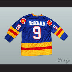 HOF Lanny Mcdonald 9 Hockey Jersey NEW Any Size Any Player or Number - borizcustom - 2