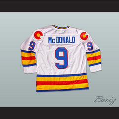 HOF Lanny Mcdonald 9 Hockey Jersey NEW Any Size Any Player or Number - borizcustom - 5