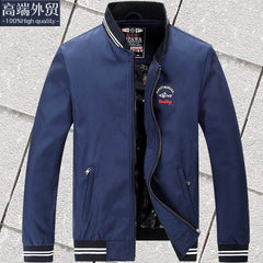 New Brand Spring Autumn Men Casual Shark Jacket Coat Mens Fashion Washed Cotton Brand-Clothing Jackets Male Zipper Coats