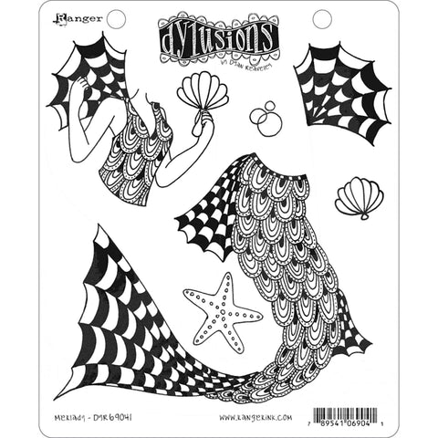 Dylusions by Dyan Reaveley - Rubber Stamps - Merlady