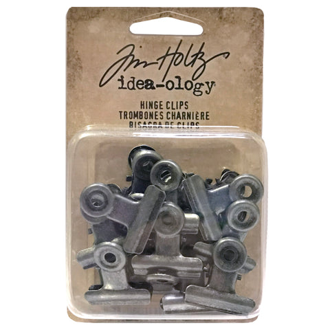 Tim Holtz Advantus Corp Idea-Ology Small Metal Hinge Clips