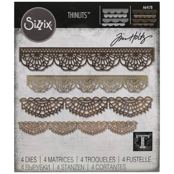 Crochet Thinlits Die Cutting Templates by Tim Holtz, made by Sizzix