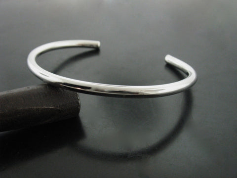 Number 80 Cuff - White Gold