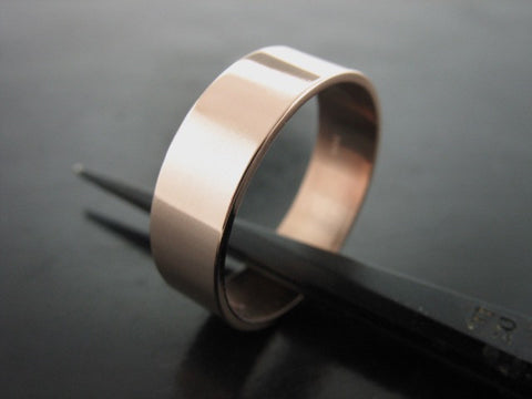 Jiou Ring- Rose Gold- 5MM
