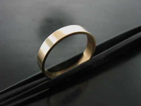 Jiou Ring- Yellow Gold- 3MM
