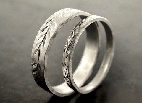 Sara And Bernardo's Wedding Rings