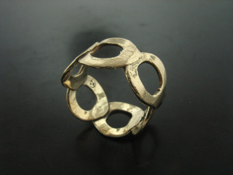Emilia Ring, Yellow Gold