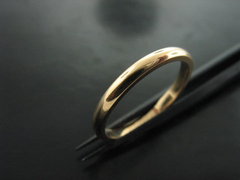 DANUBE WEDDING RING - Yellow Gold