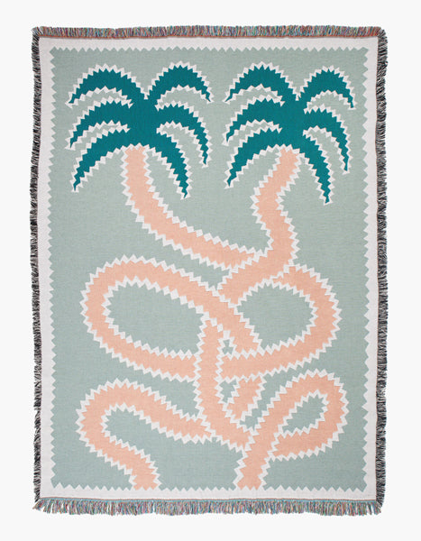 Tangle Cotton Throw