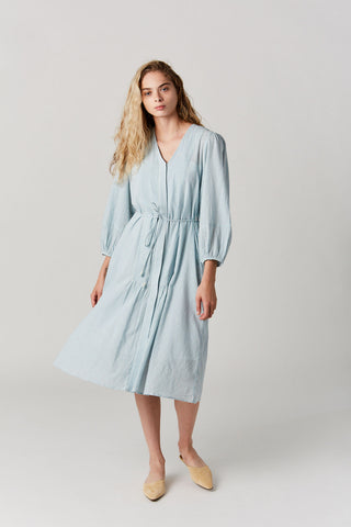 Laguna Shirt Dress, Blue Stripe
