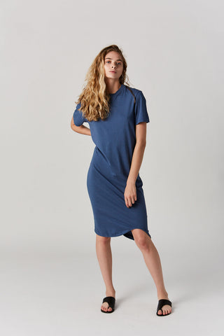T-Shirt Dress, Blue