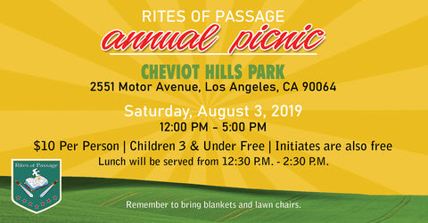Rites of Passage Annual Picnic