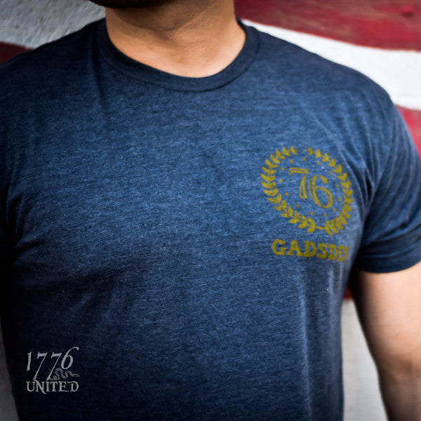 The Gadsden - Navy - Shirt - 1776 United