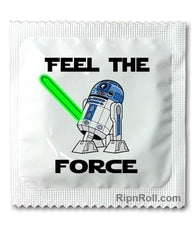 Star Wars condom - Feel the Force