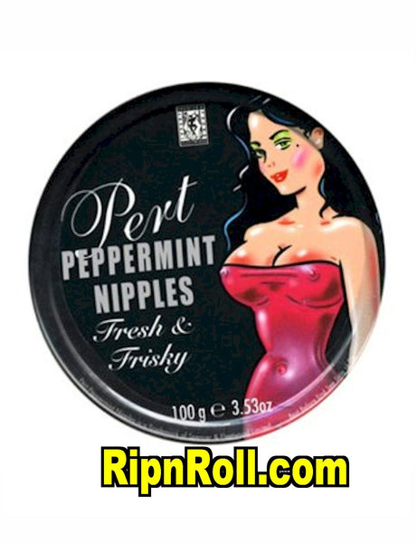 Peppermint Nipples Mints - RipnRoll.com