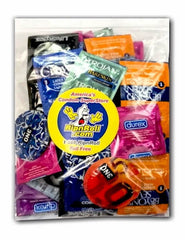Super Mighty Mix 100 - Assorted Condoms from RipnRoll.com