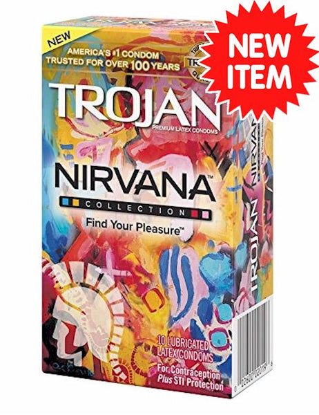 Trojan Nirvana Condoms - RipNRoll