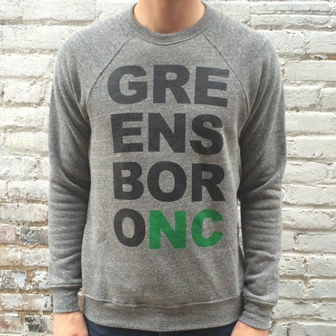 Greensboro Mega Block Sweatshirt Grey