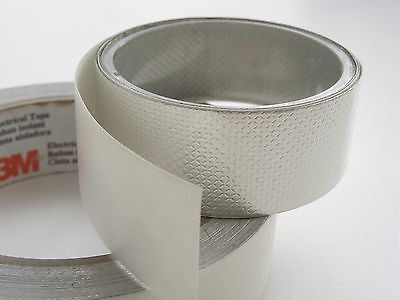 3M 1345 Embossed Tin-Plated Copper Foil Conductive Tape for grounding & EMI shielding