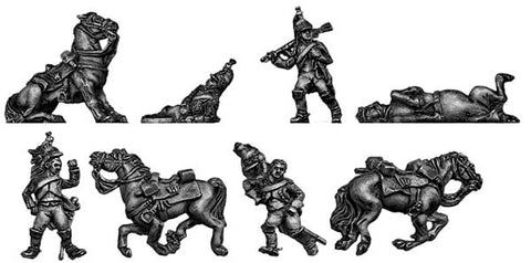 (AB-F71) Dragoon Casualty set- 8 pieces