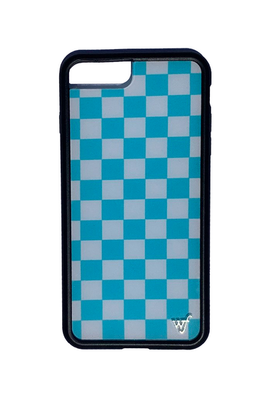 Blue Checkers iPhone 6+/7+/8+ Plus Case