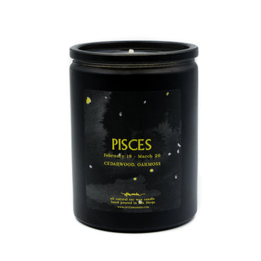 Pisces Candle