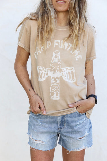 Junk Food Camp Funtime Tee