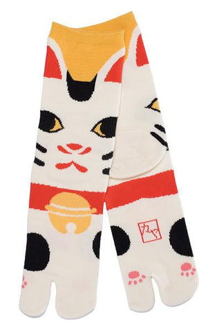 Maneki Neko Tabi Socks