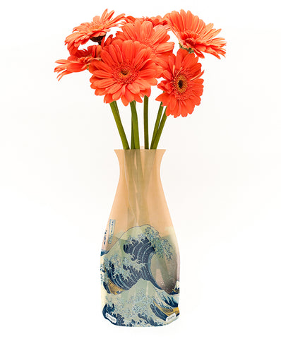 The Great Wave Expandable Vase