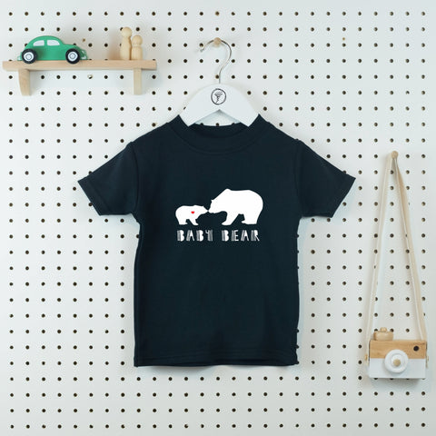 Baby Bear T-shirt - Little Whirlwinds cool baby clothes and cool older kids clothes and gifts